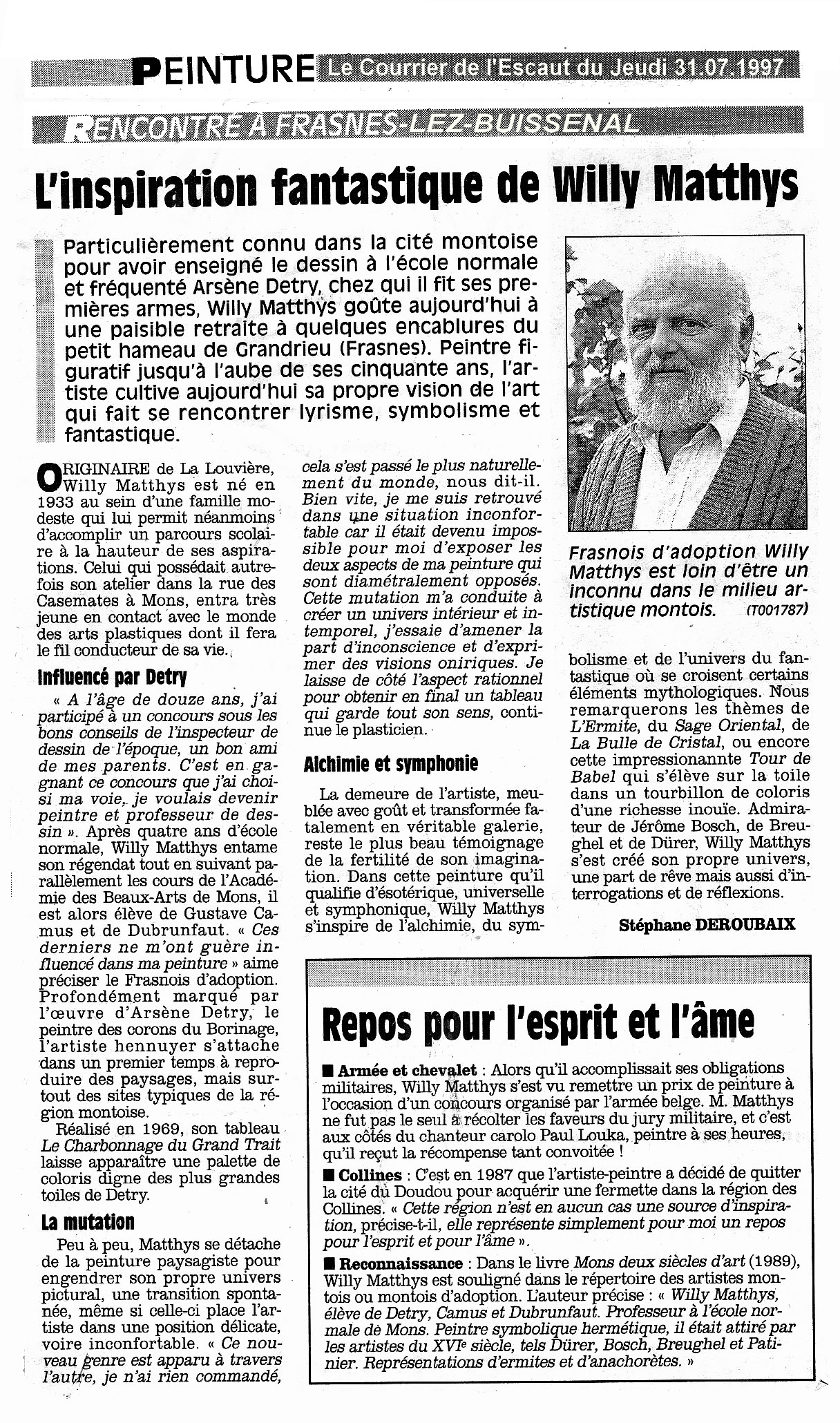 Matthys Willy 31.07.1997